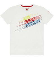 La Sportiva Stripe Evo - T-shirt - bambino, White