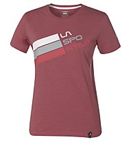 La Sportiva Stripe Logo - Klettershirt - Damen, Cipria
