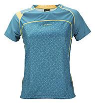 La Sportiva Summit T-Shirt Damen, Blue