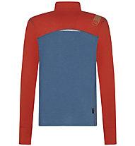 La Sportiva Swift Long Sleeve - maglia tecnica a manica lunga - donna, Blue/Orange