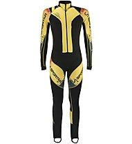 La Sportiva Syborg Racing - tuta sci alpinismo - uomo, Black/Yellow