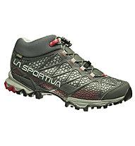 La Sportiva Synthesis GORE-TEX SURROUND Damen Trailrunning- und Trekkingschuh, Carbon Berry
