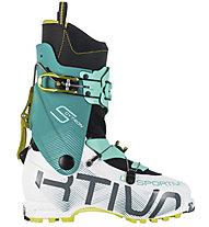 La Sportiva Sytron W - Skitourenschuh Damen, White/Turquoise