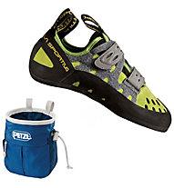 La Sportiva Tarantula - scarpette da arrampicata - uomo, Green/Grey