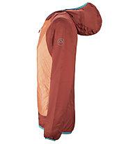 La Sportiva Task Hybrid - giacca scialpinismo - donna, Orange