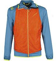 La Sportiva Task Hybrid - giacca ibrida - uomo, Blue/Orange