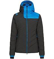 La Sportiva Tempest Down - giacca in piuma - donna, Black/Light Blue