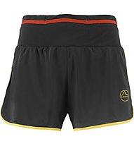 La Sportiva Tempo - pantaloncini trail running - uomo, Black/Yellow