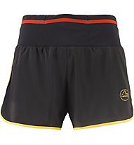 La Sportiva Tempo Short M - pantaloncini trail running - uomo, Black/Yellow