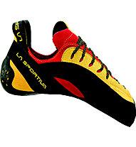La Sportiva Testarossa Scarpette arrampicata, Red/Yellow