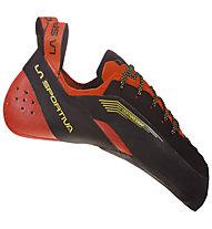 La Sportiva Testarossa - scarpa arrampicata e boulder - uomo, Black/Red