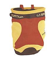 La Sportiva Chalk Bag Testarossa, Red/Yellow