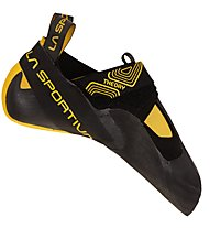 La Sportiva Theory - scarpette da arrampicata - uomo, Black/Yellow