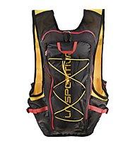 La Sportiva Trail Vest - Trailrunning Rucksack, Yellow/Black