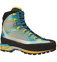 La Sportiva Trango Cube GORE-TEX Women's - Bergschuh Alpin Klettersteige Damen, Blue/Yellow