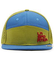 La Sportiva Traverse - Schirmmütze Klettern, Green/Blue