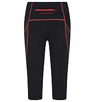 La Sportiva Triumph Tight 3/4 - Trailrunning Hose - Damen, Black/Red