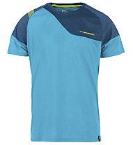 La Sportiva TX Combo Evo - T-Shirt Klettern - Herren, Light Blue/Blue
