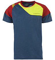 La Sportiva TX Combo Evo - T-Shirt Klettern - Herren, Blue/Red