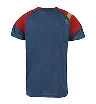 La Sportiva TX Combo Evo - T-Shirt arrampicata - uomo, Blue/Red