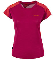 La Sportiva TX Combo Evo - T-shirt arrampicata - donna, Red