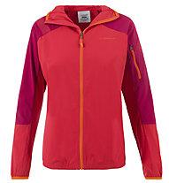 La Sportiva TX Light - Giacca con cappuccio arrampicata - donna, Red