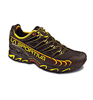 La Sportiva Ultra Raptor Herren Trailrunningschuh, Black/Yellow