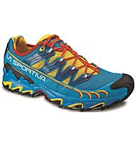 La Sportiva Ultra Raptor - Trailrunningschuh - Herren, Light Yellow/Dark Blue