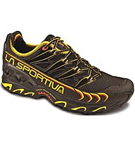 La Sportiva Ultra Raptor Herren Trailrunningschuh, Black/Yellow