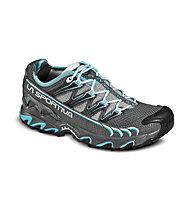 La Sportiva Ultra Raptor Women Scarpe trailrunning donna, Grey/Ice Blue