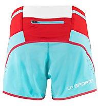 La Sportiva Vector - Trailrunninghose - Damen, Light Blue/Red