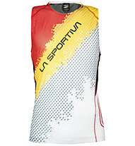 La Sportiva Velocity Tank Trailrunning Shirt, Black/Yellow