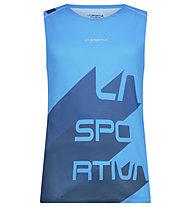 La Sportiva Vert - Trailrunningshirt ärmellos - Herren, Blue/Dark Blue