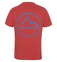 La Sportiva Vintage - Kletter T-Shirt - Herren, Red