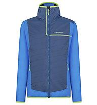 La Sportiva Zeal -  Alpinjacke - Herren, Blue/Light Green