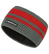 La Sportiva Zephir - Stirnband Skitouren, Grey/Red