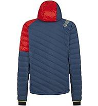 La Sportiva Zone Down - giacca in piuma - uomo, Blue/Red
