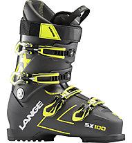 Lange SX 100 - scarpone sci alpino, Anthracite/Yellow