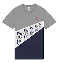 Le Coq Sportif Fanwear Nr.6, light heath grey/dress blue