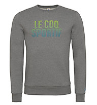 Le Coq Sportif Ligne Logo Charvin Sweatshirt, Medium Heather Grey