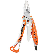 Leatherman Skeletool RX - attrezzo multiuso, Steel/Orange