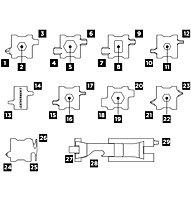 Leatherman Tread Metric - Multifunktionswerkzeug, Grey