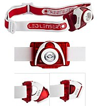 LED Lenser SEO5 - Stirnlampe, Red