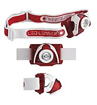 LED Lenser SEO5 - lampada frontale, Red
