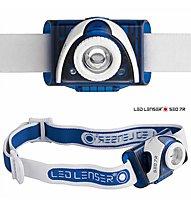 LED Lenser SEO7R - lampada frontale, Blue