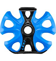 Leki Big Mountain Binding Basket - rotella per bastoncino da scialpinismo, Black/Blue