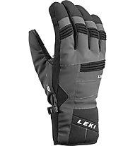 Leki Progressive 6 S - guanti da sci - uomo, Grey/Black