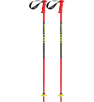 Leki Racing Kids - bastoncini sci - bambino, Red/Black/Yellow