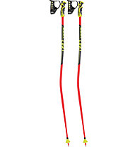 Leki WC Racing GS - Bastoncini da sci, Red/Black/Yellow