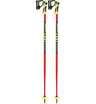 Leki Worldcup Lite SL - bastoncino sci bambino, Red/Yellow/Black